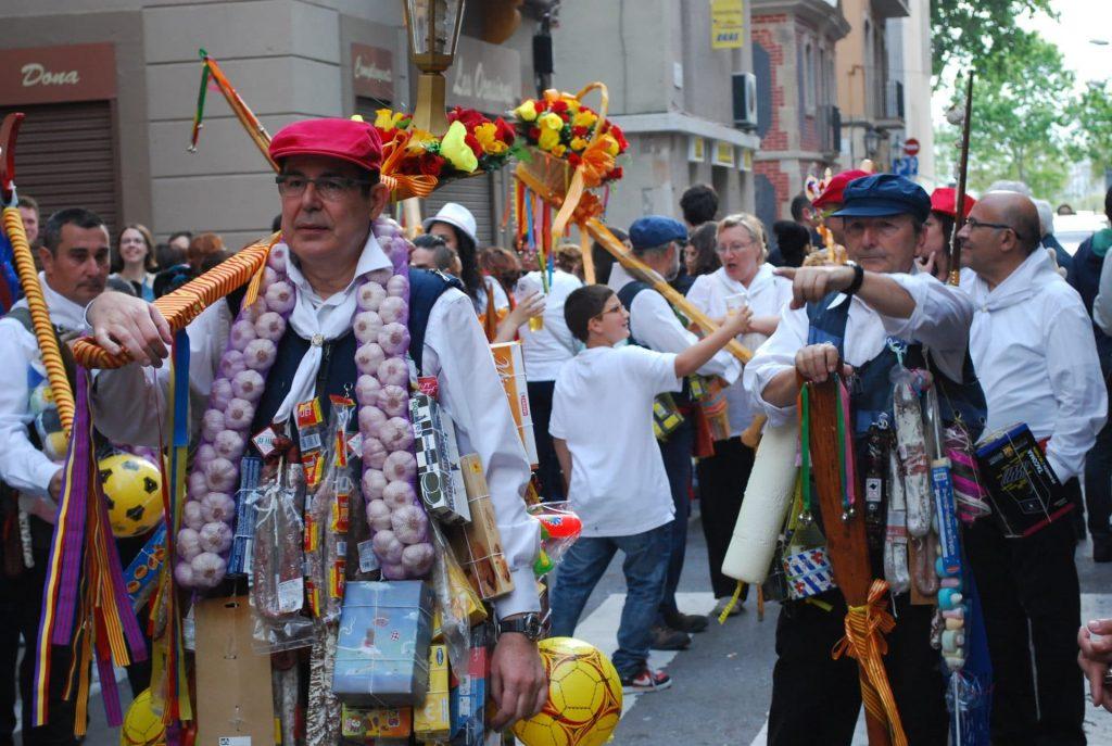 Peña tradicional de Los Coros de la Barceloneta