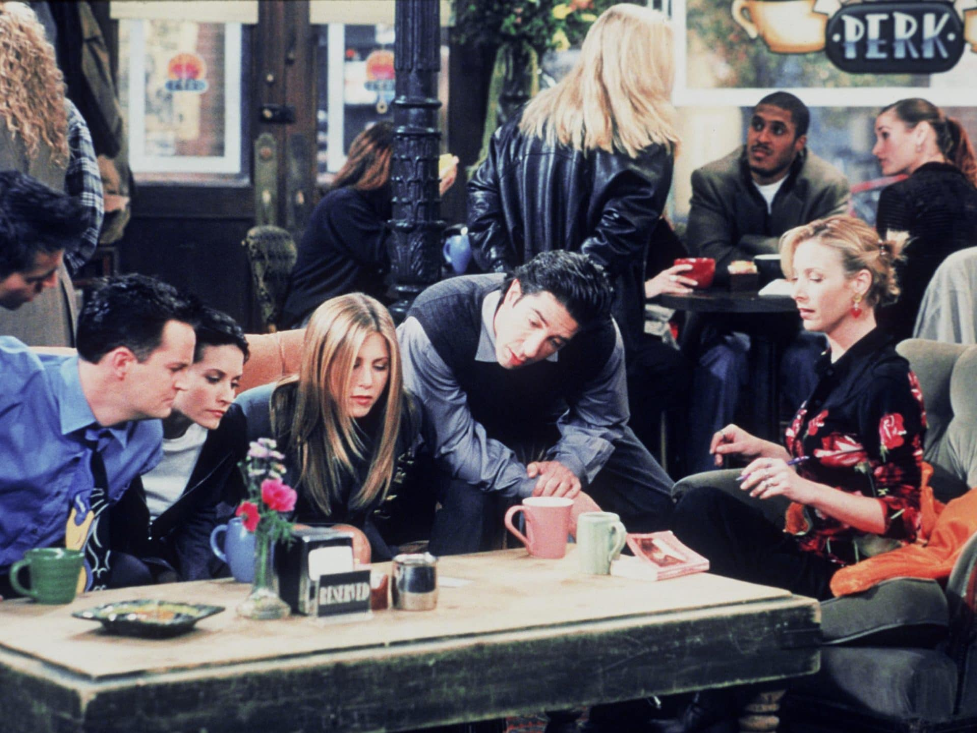 friends central perk 1999