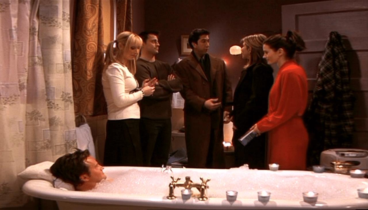hora del baño