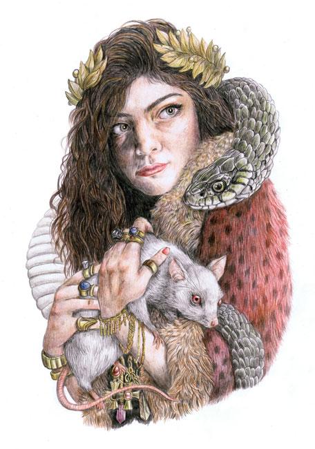 Dibujo de Lorde
