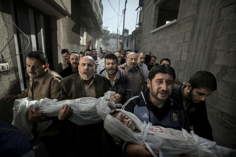 Gaza Burial, Paul Hansen