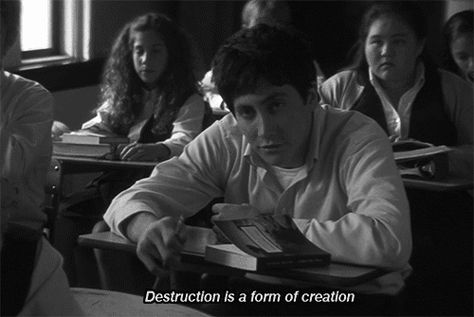 donnie darko destruction creation