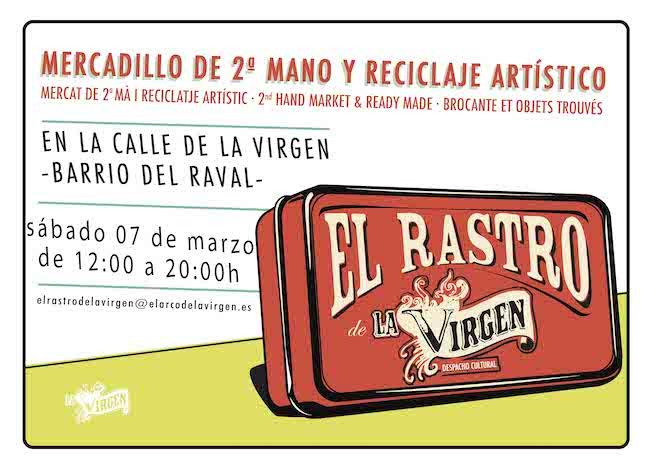 el rastro de la virgen en barcelona