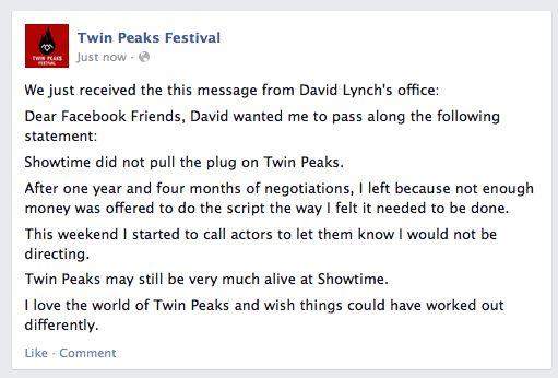 twin peaks 2016 cancelación