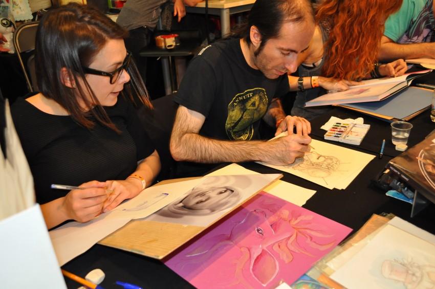 Cris Ferrer y Dani Alarcón