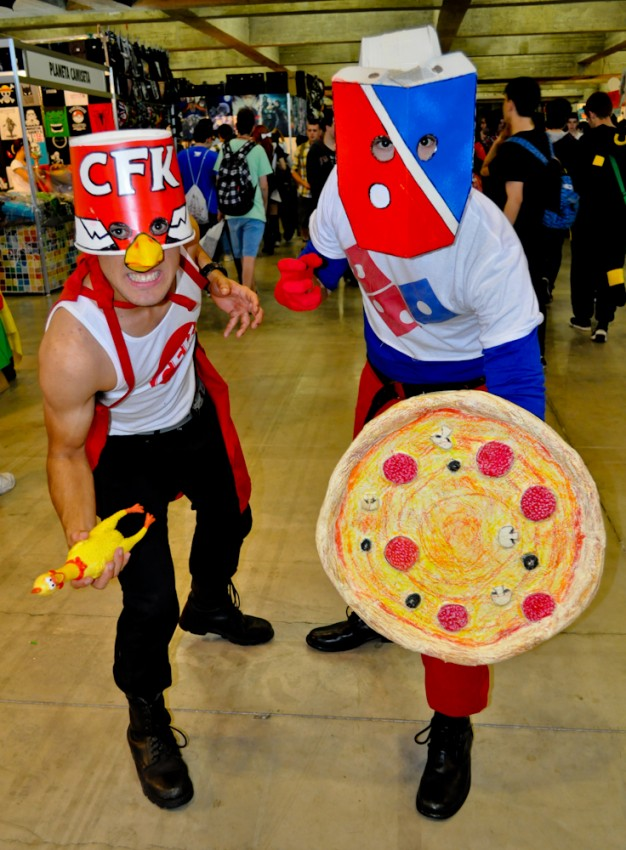 Cosplay Dominos Pizza