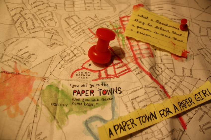 paper towns map