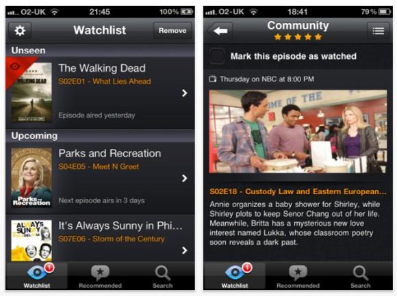 episodes aplicación