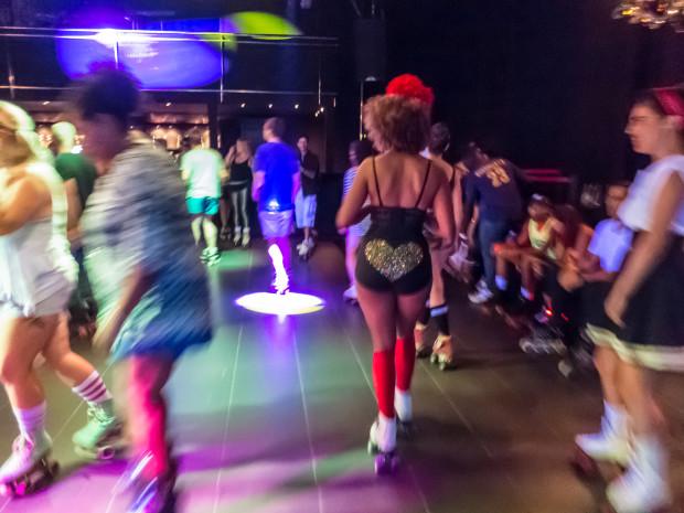 Roller disco en el Skate Love BCN