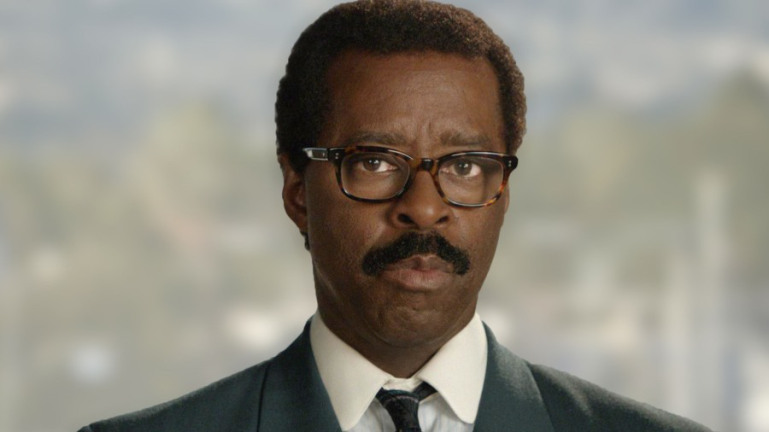 Courtney Vance as Johnnie Cochran.