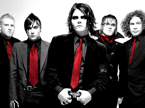 my chemical romance red
