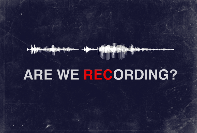 are we recording?