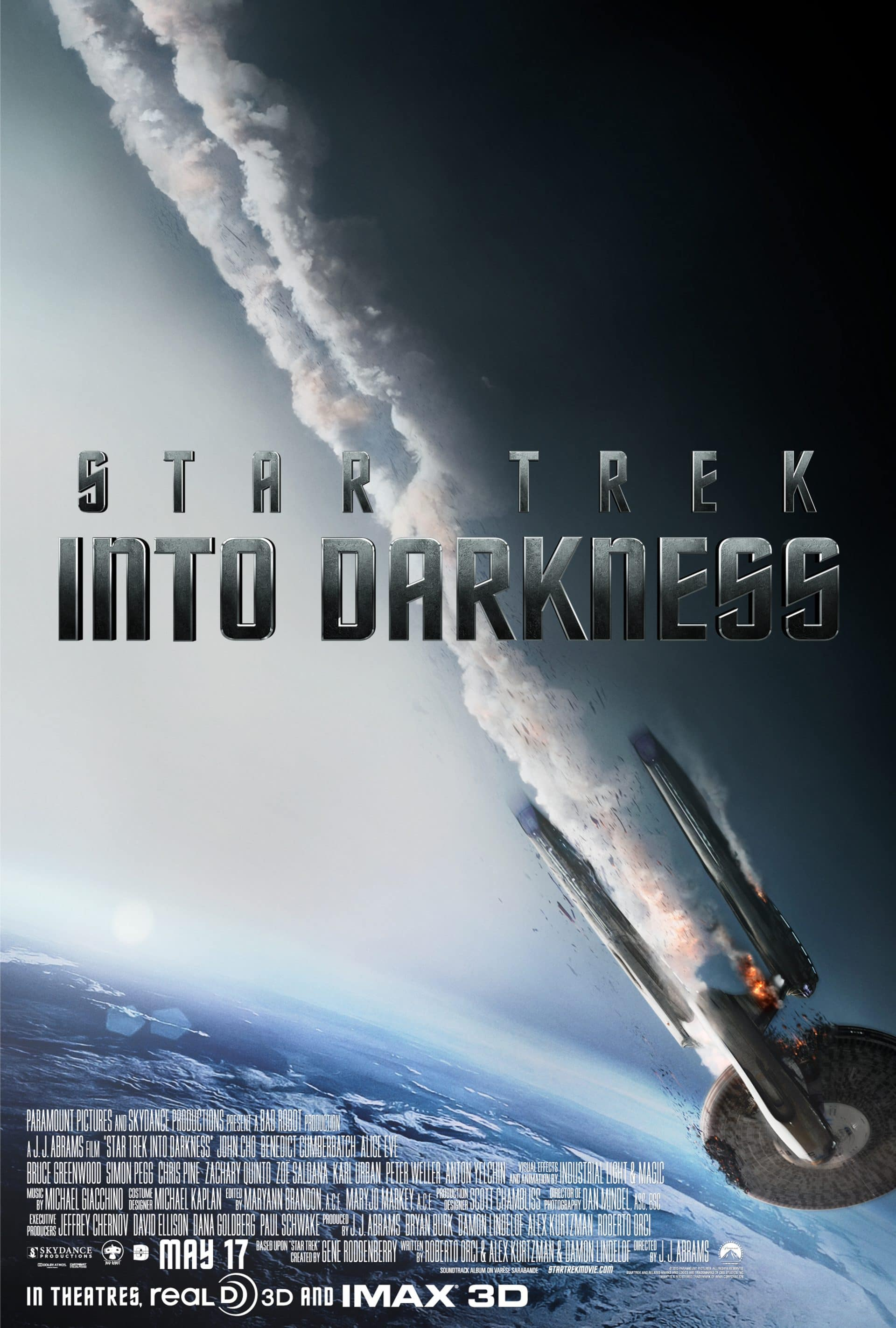 star trek into darkness poster enterprise