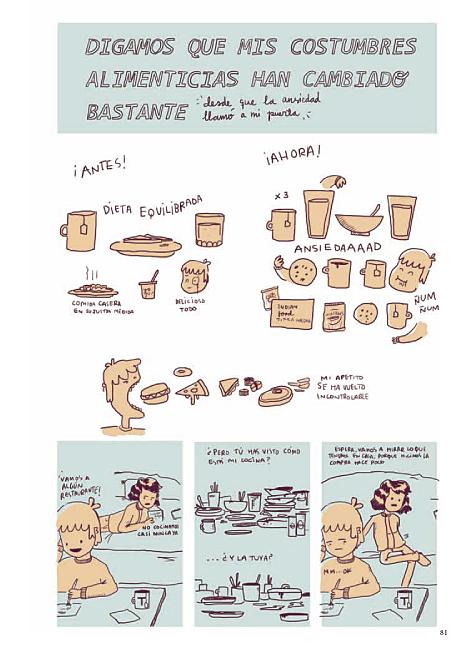 Página de dieta equilibrada de Animal Party de Miriam Muñoz