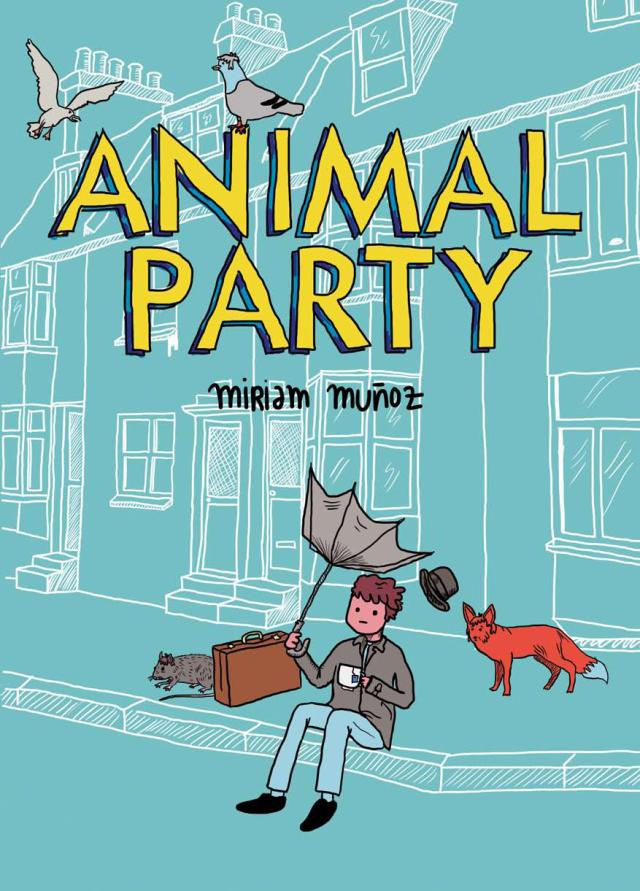 Portada de Animal Party de Miriam Muñoz