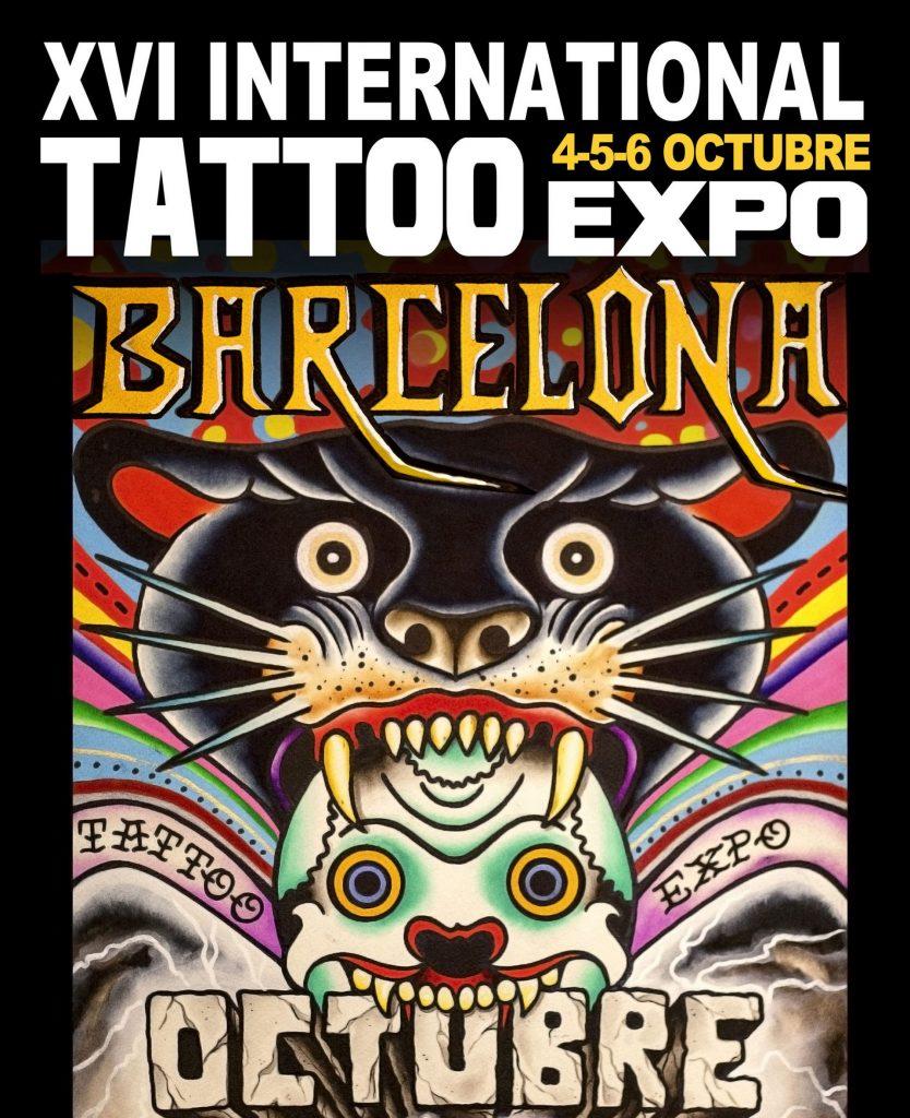 poster salon del tattoo 2013