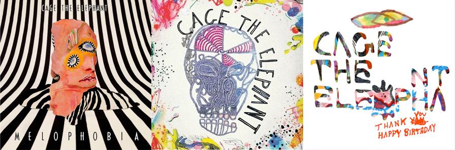 Discografía de Cage the elephant