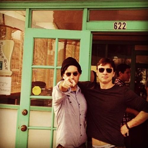 Zach Braff y Joshua Radin