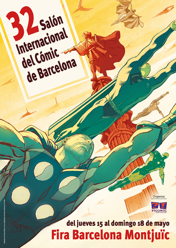 cartel salon del comic 2014