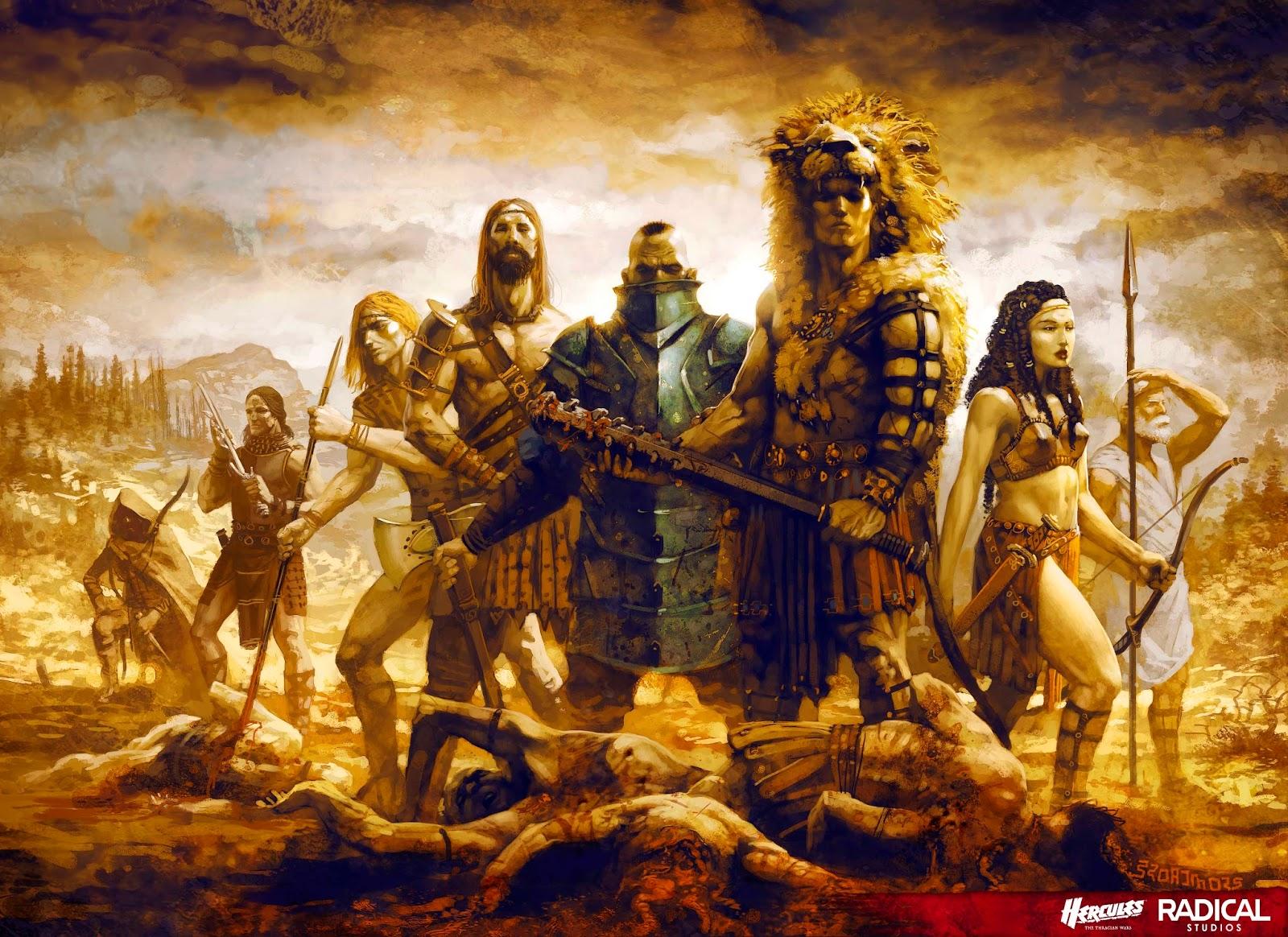 Hercules Retina Movie Wallpaper: Hércules 2014