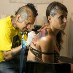 tatuador mujer barcelona tattoo expo 2014