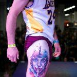 tatuaje pierna barcelona tattoo expo 2014