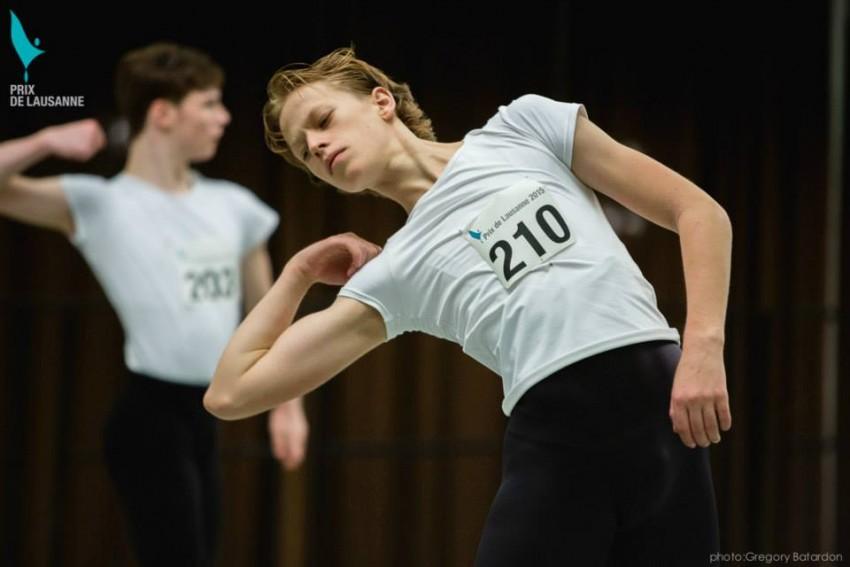Bailarin Prix Lausanne