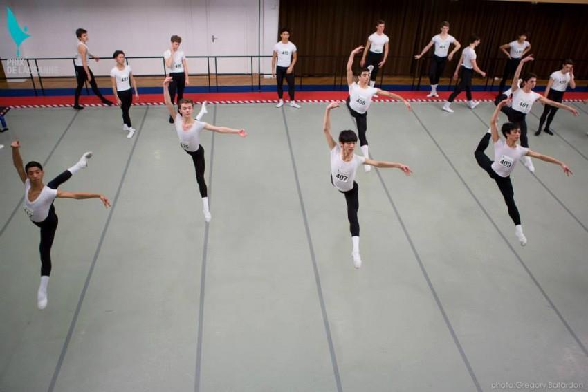 Bailarines Prix Lausanne