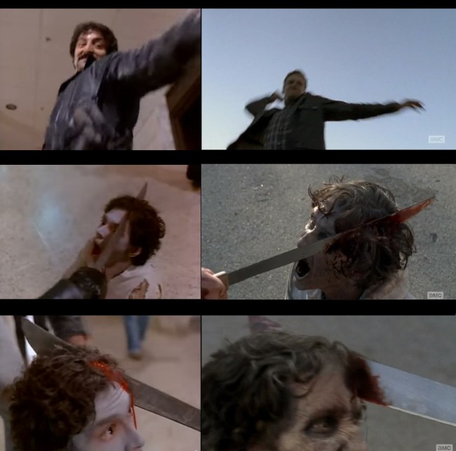 Homenaje de The Walking Dead a Dawn of the Dead