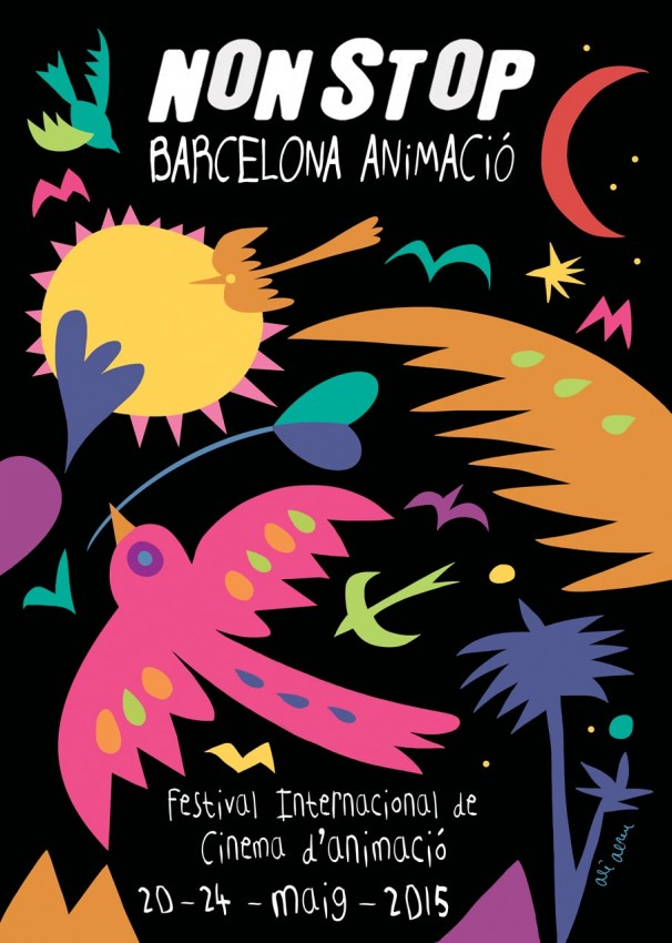 Nonstop Barcelona Animació Cartel