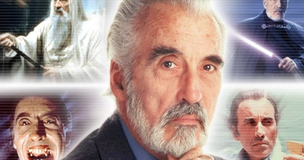 christopher lee personajes