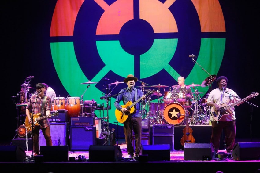 Ben Harper & The Innocent Criminals en el Festival de Cap Roig (Origen: ACN)