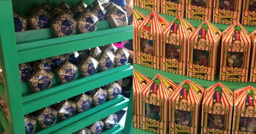 universal studios harry potter dulces
