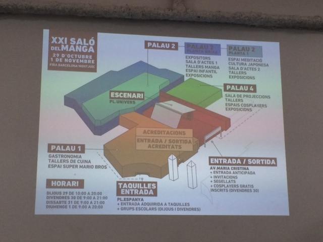 salón del manga 2015 mapa