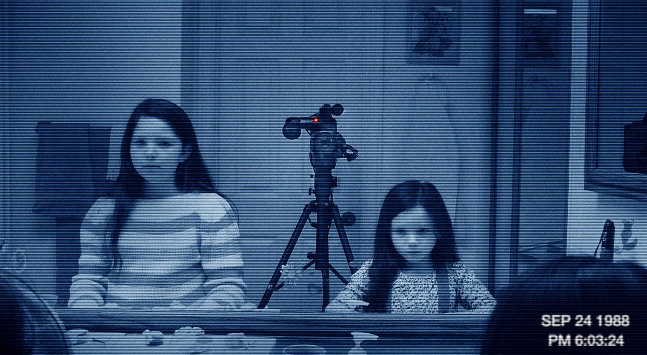 Paranormal Activity 3 katie kristi