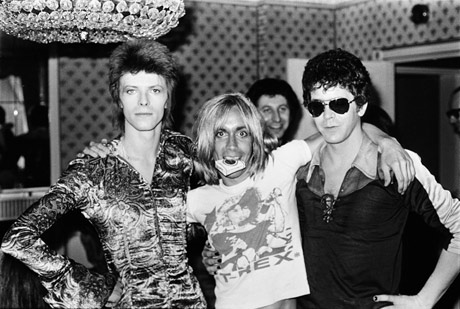 david bowie iggy pop lou reed