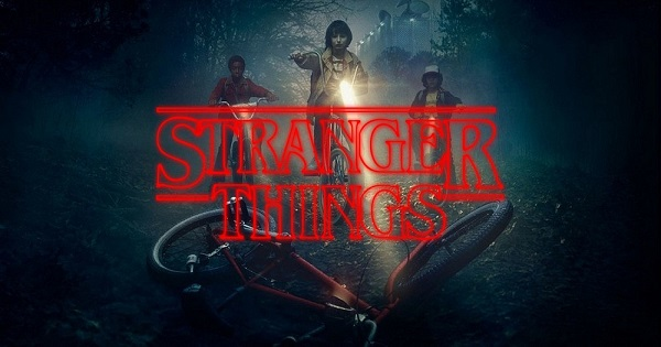 Stranger Things Title Card