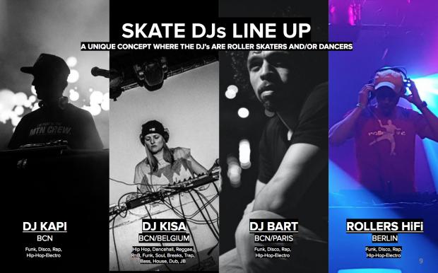 Skate DJ's en el Skate Love BCN
