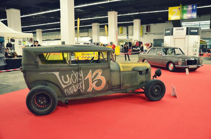 barcelona tattoo expo coches