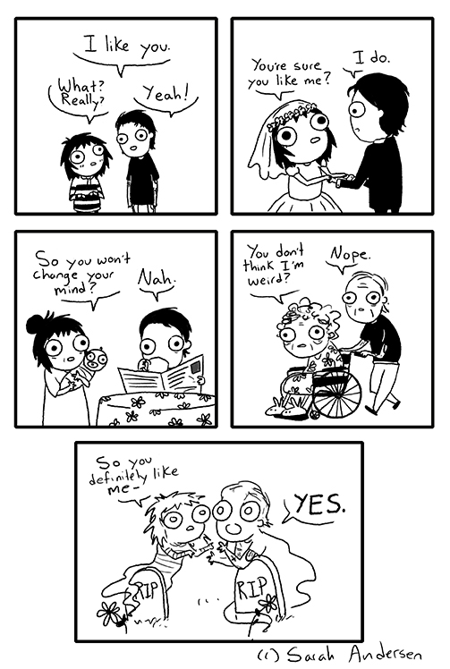 you like me comic