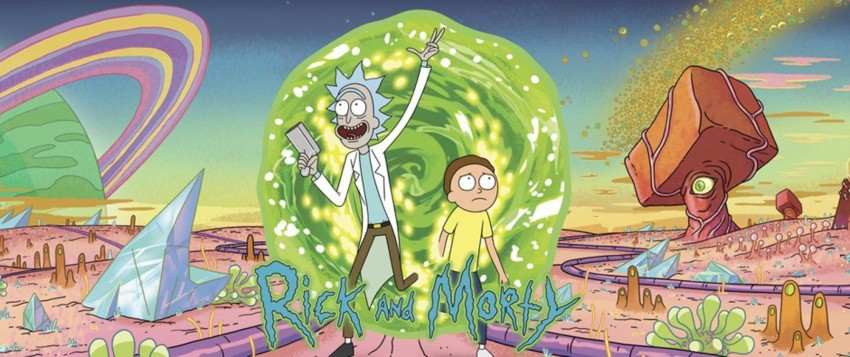 rick morty header