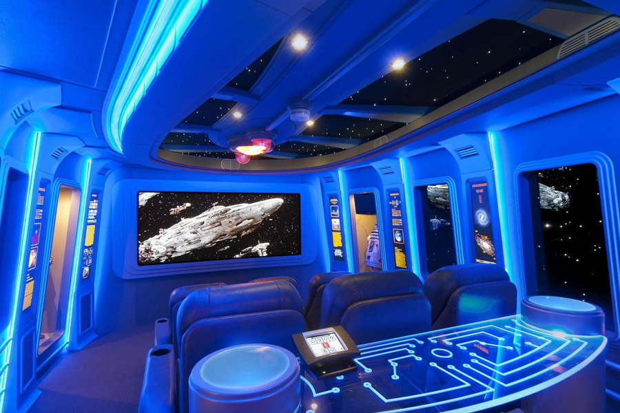 home cinema starwars