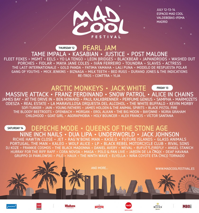 mad cool cartel 2018