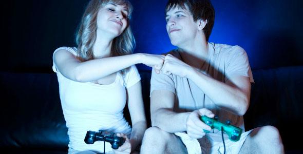 videojuegos pareja