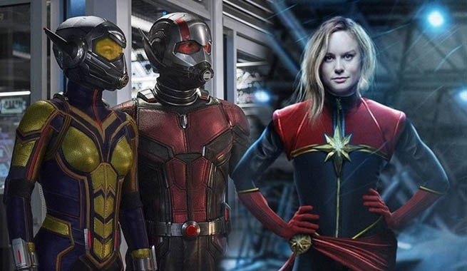ant man wasp captain marvel