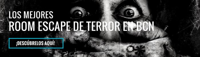 banner mejor escape room terror bcn