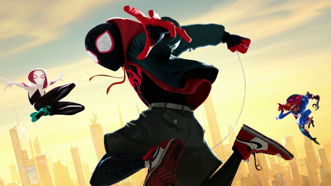 exclusive spider man into the spider verse character posters 9mdp