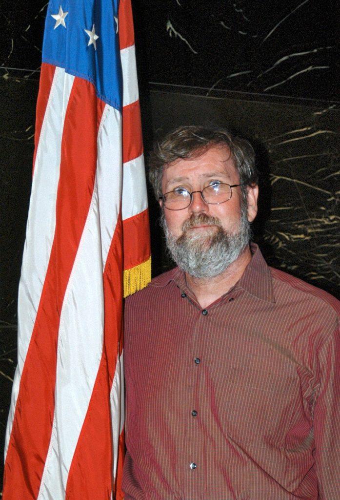 Ian Gibbons Bandera EEUU