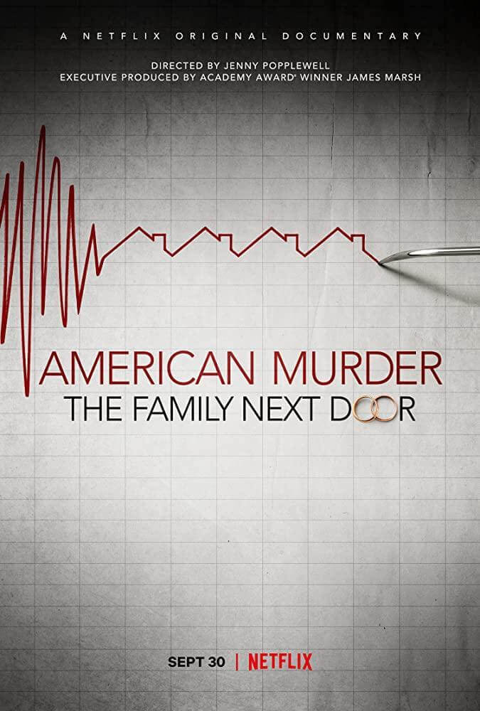 Portada del Caso watts, American Murder, the family next door. Netflix