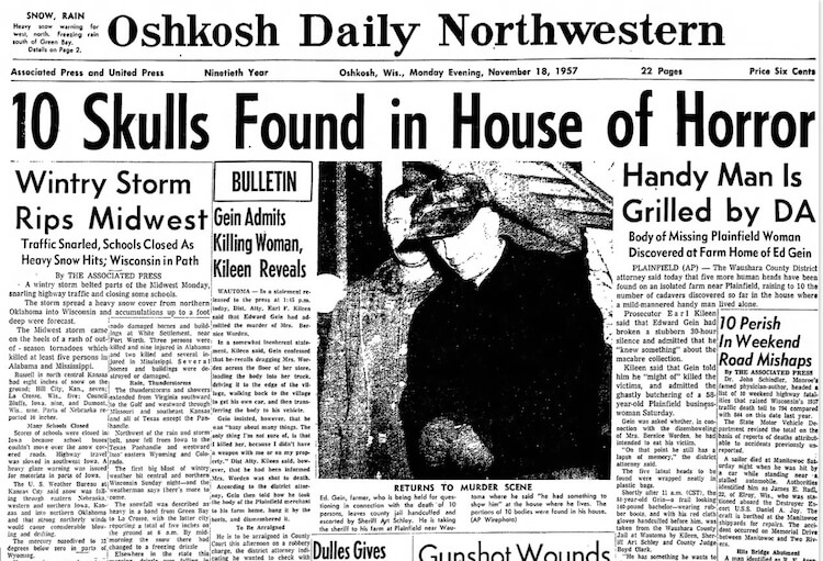 Periodico local de nov de 1957